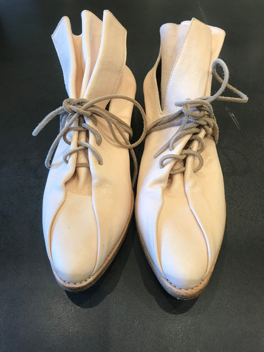 Uma wang x Guidi shoes in  ivory