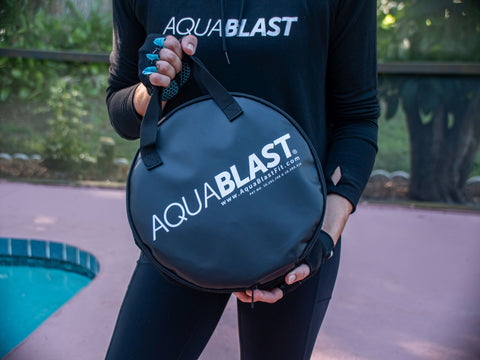 AquaBLAST, the aqua-gym in a bag