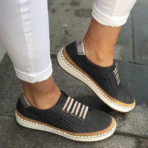 Casual Breathable Soft Sneakers Flats Shoes