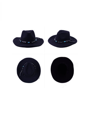 Wollen Gem Western Cowboy Hat Accessories