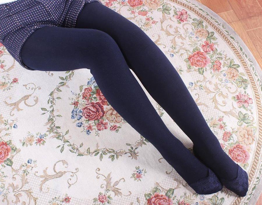 Winter plus warm one pants high elastic hot cotton tip lace thin Leggings female