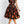 Load image into Gallery viewer, Halloween Mid-Calf Short Sleeve Print Expansion Standard-Waist Costume Mini Dress