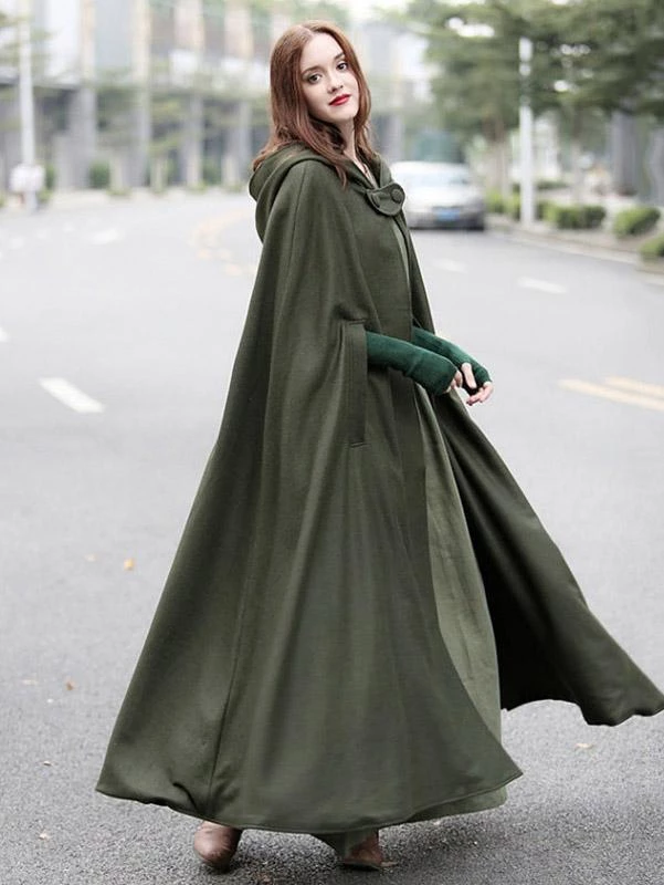 Vintage Batwing-sleeves Autumn Cape Tops