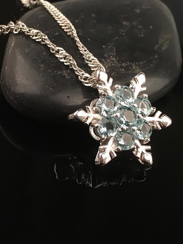 Christmas Snowflake Sliver-gilt Necklace Accessories - Voguetide