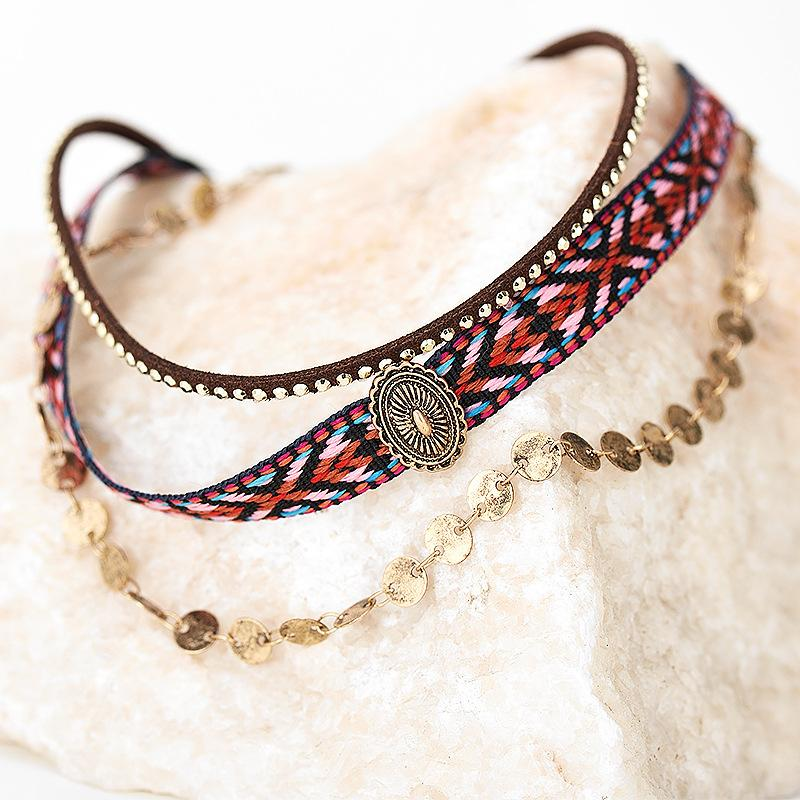 Bohemian retro clavicle necklace