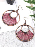 Vintage 6 Colors Bohemia Hollow Creative Earrings