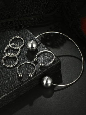 Fashion Vintage Aolly Rings Sets - Voguetide
