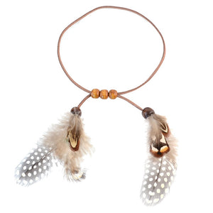 Boho Vintage Feather Arm Chain Accessories