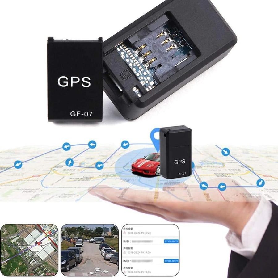 Mini Portable GPS Tracker Automobile Electric SMS Global Positioning Tracking Device