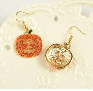 Halloween Pumpkin Earring Accessories - Voguetide