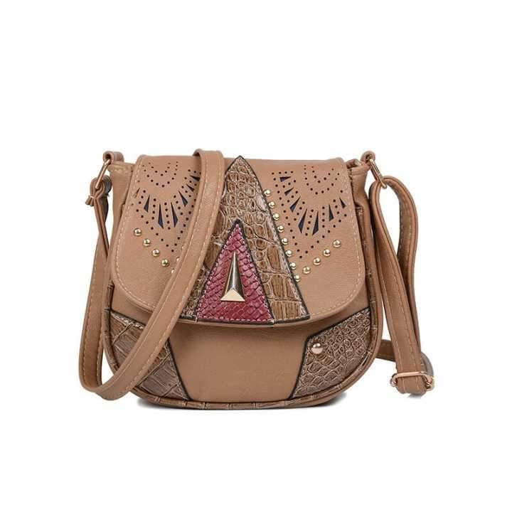 Boho Fashion Mini PU Rivet Shoulder Bag - Voguetide