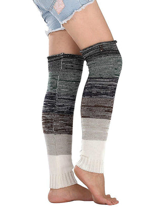 Winter Over Knee Warm Boot Socks Long Leg Warmers