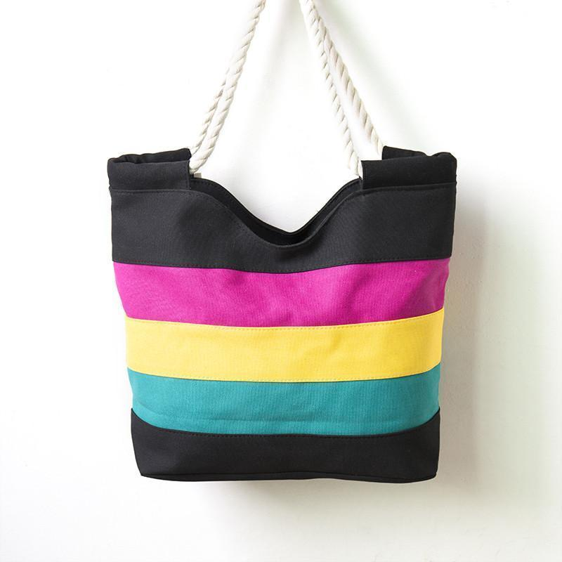 Women Vintage Multi Colorful Versatile Shoulder Bag