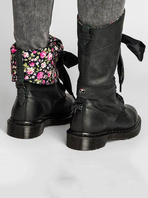 Vintage Chunky Heel Daily Boots