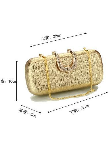 Fashion Gold Diamonds Evening Bag - Voguetide