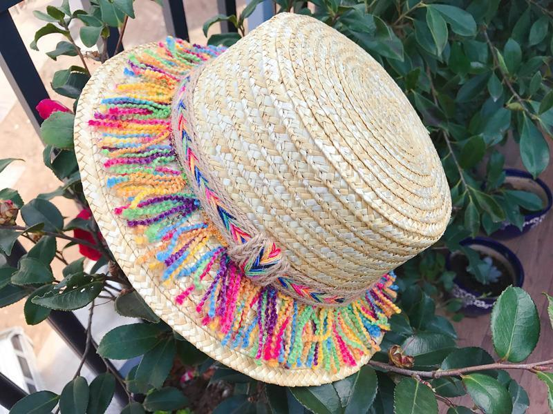 Summer Hand-Woven Bohemian Straw Parent-Child Sun Hat