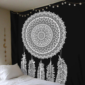 Bohemia Mandala Tribe Style Floral Wall Hanging Tapestry - Voguetide