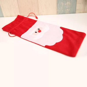 Wine Bottle Cover Bag Decoration Home Party Santa Claus Christmas Party Dinner Decoration Party