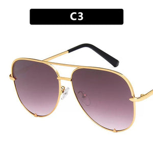 Vintage Retro Beach Fashion Aviators Sunglasses