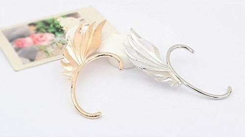 1PC Retro Boho Feather Shape Ear Cuff Earring