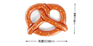 Inflatable bagel floating row adult horse unicorn swim ring beach style beach fashion - Voguetide