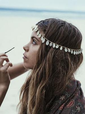 Bohemian Shell Chain Hair Accessories Headwear - Voguetide