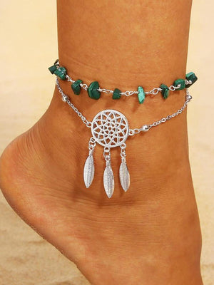 Boho Beach Section Beads Foot Chain Jewelry Anklet - Voguetide