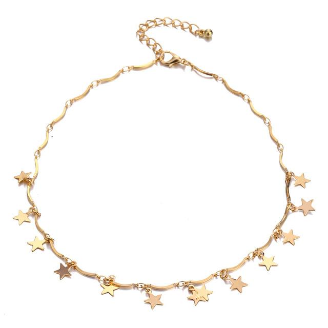 Fashion Tiny Star Necklaces Choker Necklace Jewelry