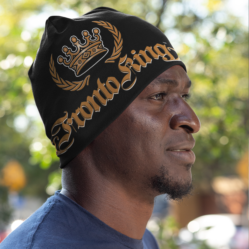 FRONTO KING LOGO - All-Over Print Beanie