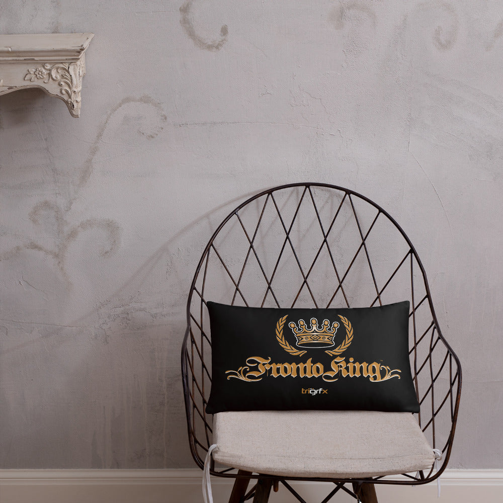 FRONTO KING LOGO - Basic Pillow