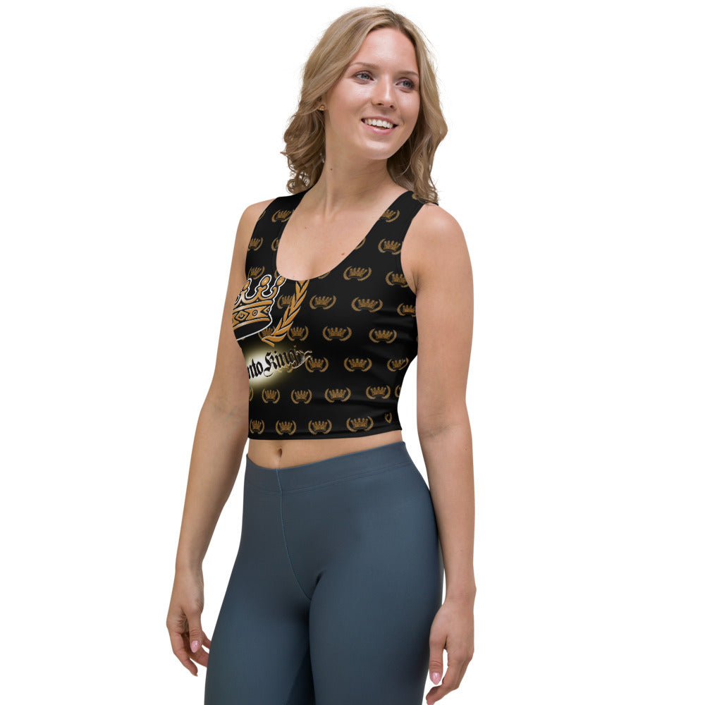 FRONTO KING Pattern - Crop Top