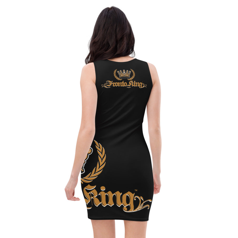 FRONTO KING LOGO - Sublimation Cut & Sew Dress