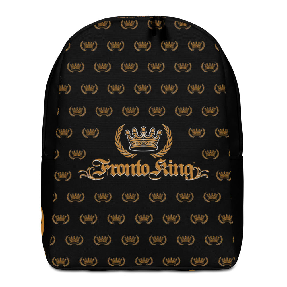 FRONTO KING Pattern - Minimalist Backpack