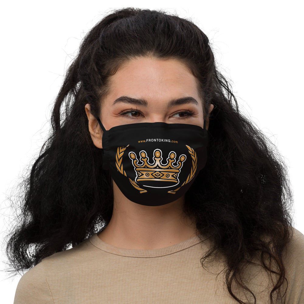 FRONTO KING CROWN - Unisex Premium face mask