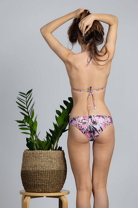 Tropical Lilac Eco-Bikini