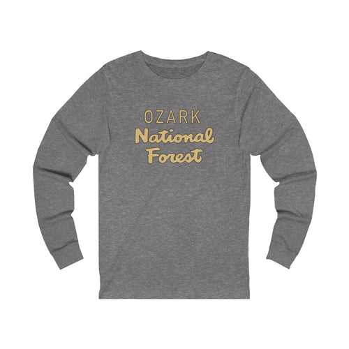 Ozark National Forest Long Sleeve Tee (words only)