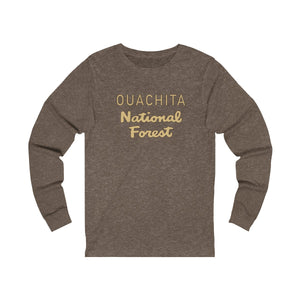 Ouachita National Forest Long Sleeve Tee (words only)