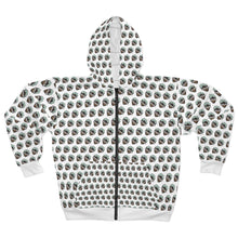 Load image into Gallery viewer, Overland Addict Patterned Zip Hoodie