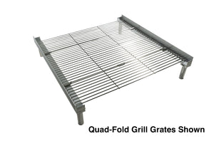 Quad-Fold Grill Grate for Fireside Pop-up Pit