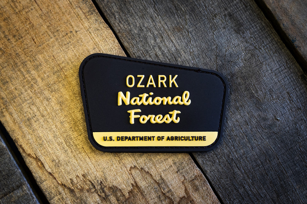Ozark National Forest Rubber Morale Patch