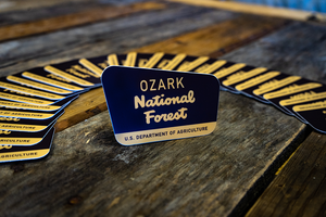 Ozark National Forest Die-cut Sticker