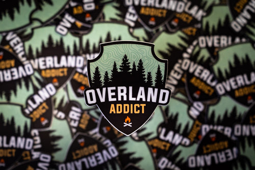 Overland Addict Die-Cut Sticker