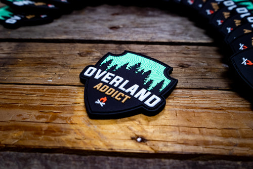 Overland Addict Rubber Morale Patch
