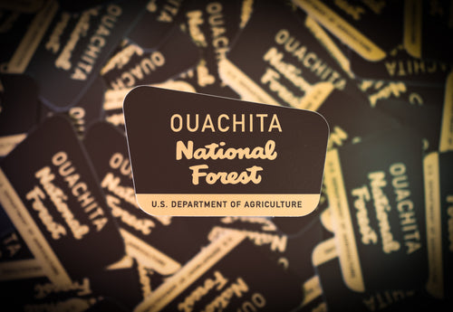 Ouachita National Forest Die-cut Sticker