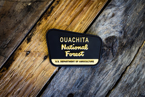 Ouachita National Forest Rubber Morale Patch