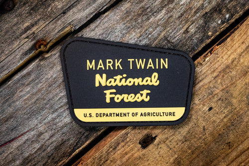Mark Twain National Forest Rubber Morale Patch
