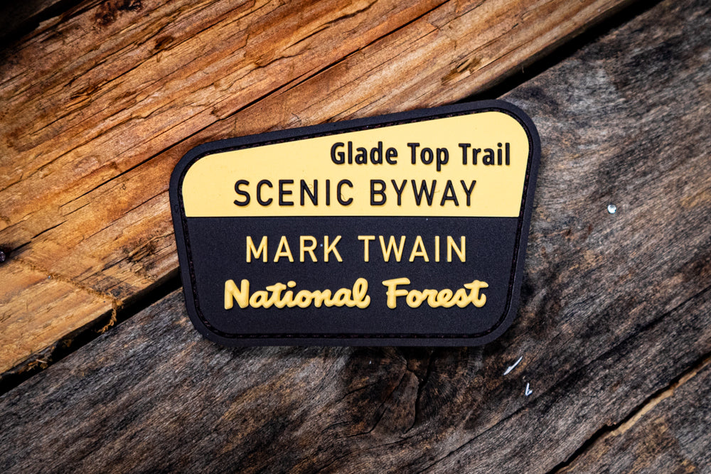 Glade Top Trail Scenic Byway Rubber Morale Patch
