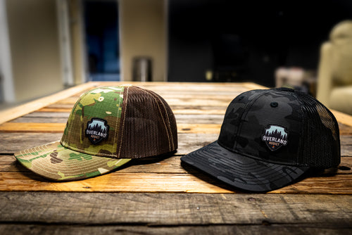 Overland Addict Camo Trucker Hat