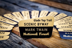 Glade Top Trail Scenic Byway Die Cut Sticker