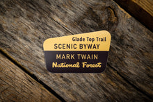 Load image into Gallery viewer, Glade Top Trail Scenic Byway Die Cut Sticker